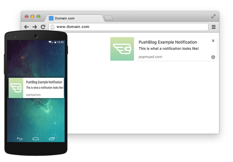 Push Notifications for Chrome