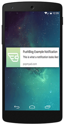 Push Notifications for Android devices