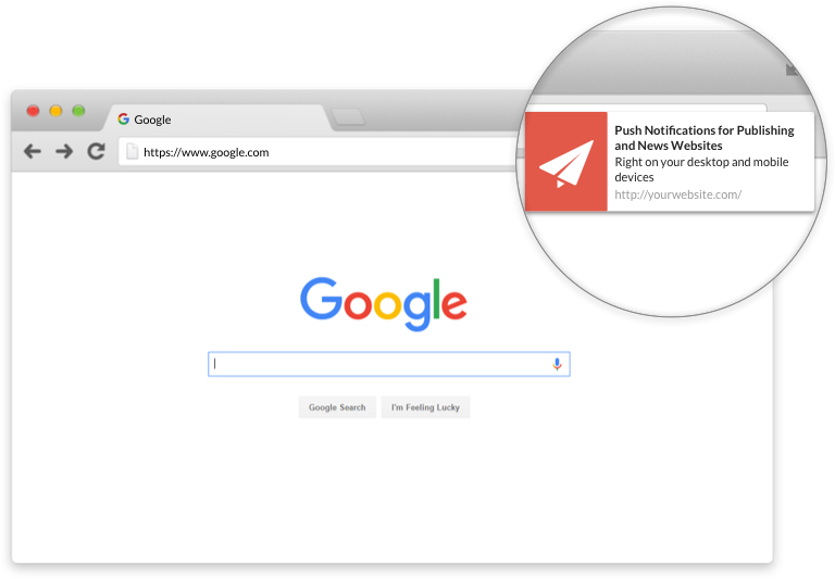 Browser  Push Notifications for Publishers